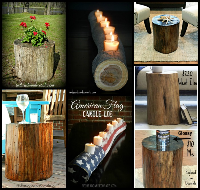 What to do with logs and stumps from your yard.