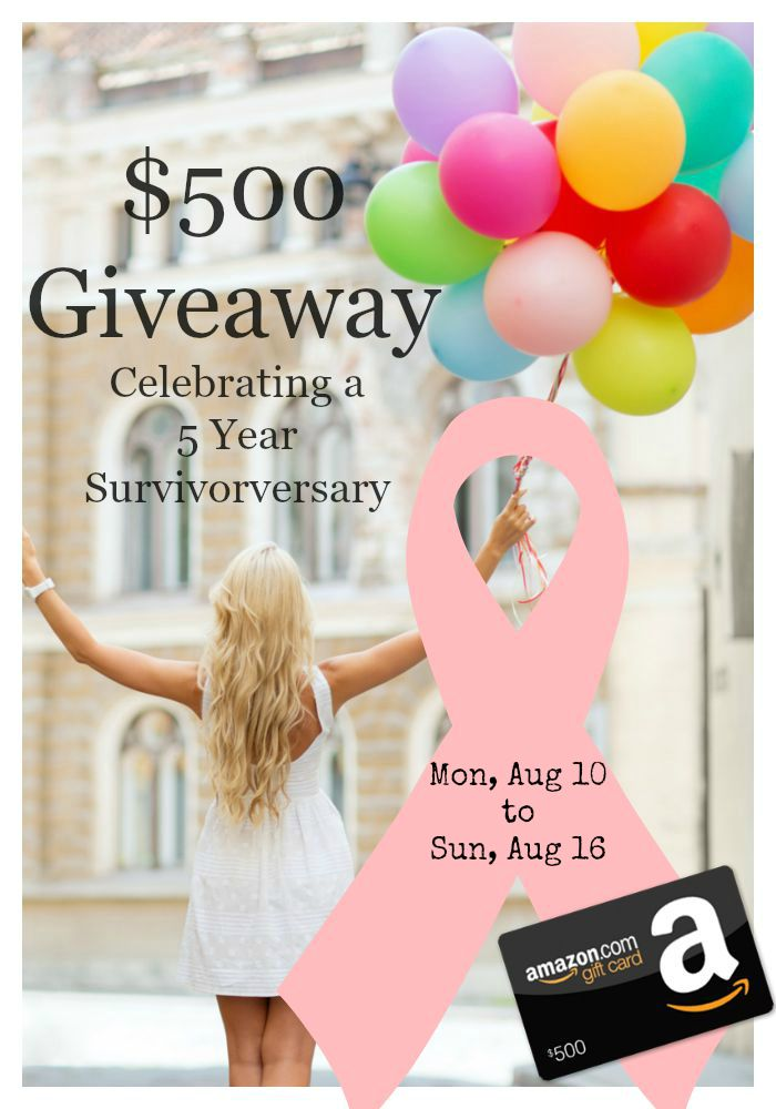 $500 Amazon Giveaway with Pink Fortitude 2