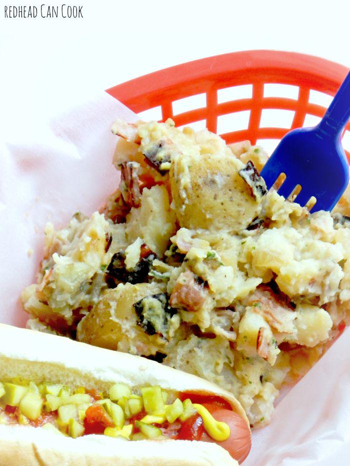 Caramelized Onion Potato Salad Recipe