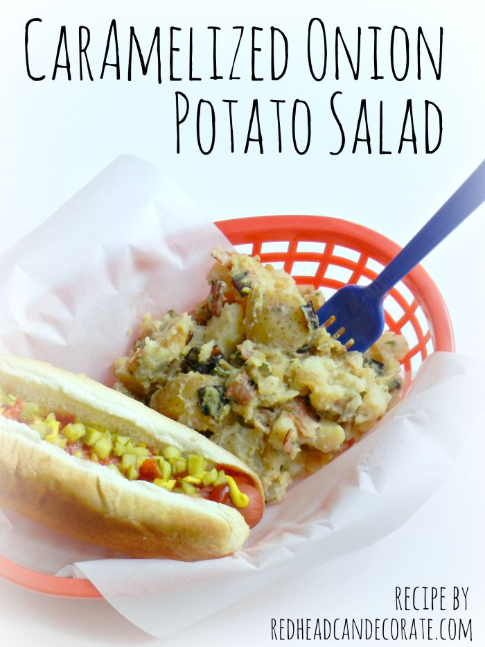 Caramelized Onion Potato Salad