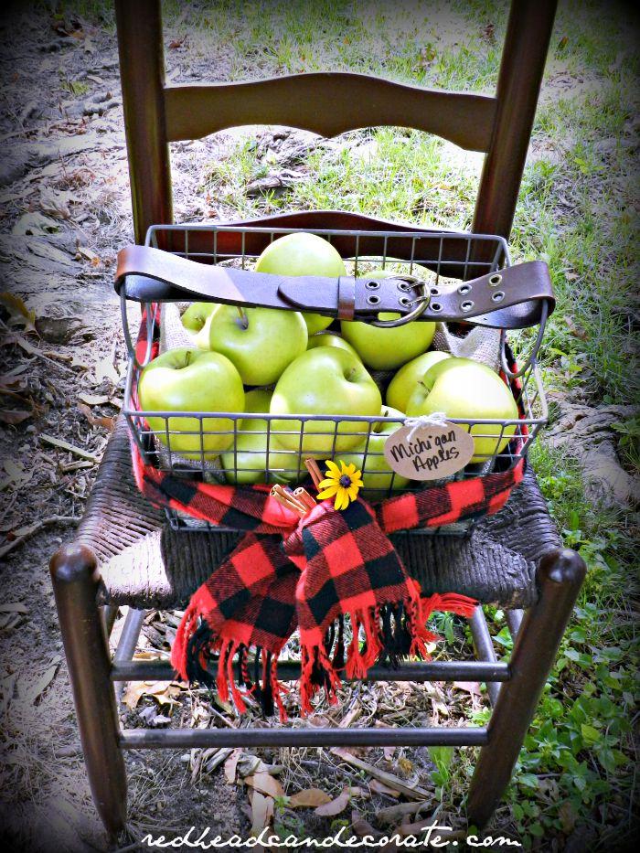 Apple Basket Idea