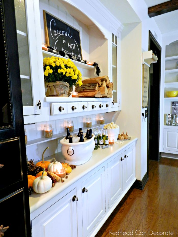 Decorate your hutch for Fall