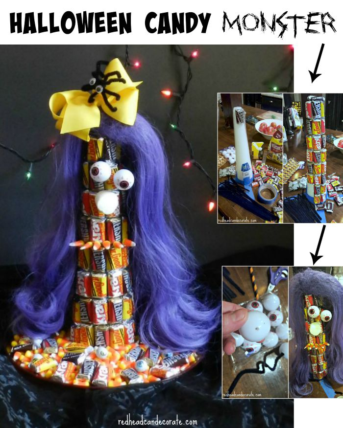 Halloween Candy Monster