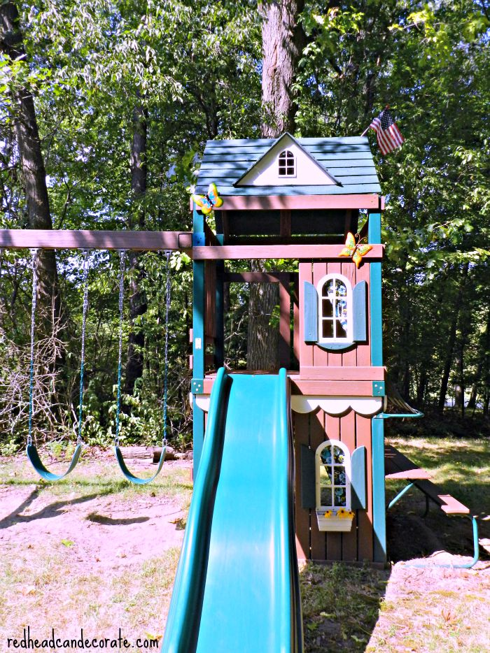 Thompson's WaterSeal Swing Makeover