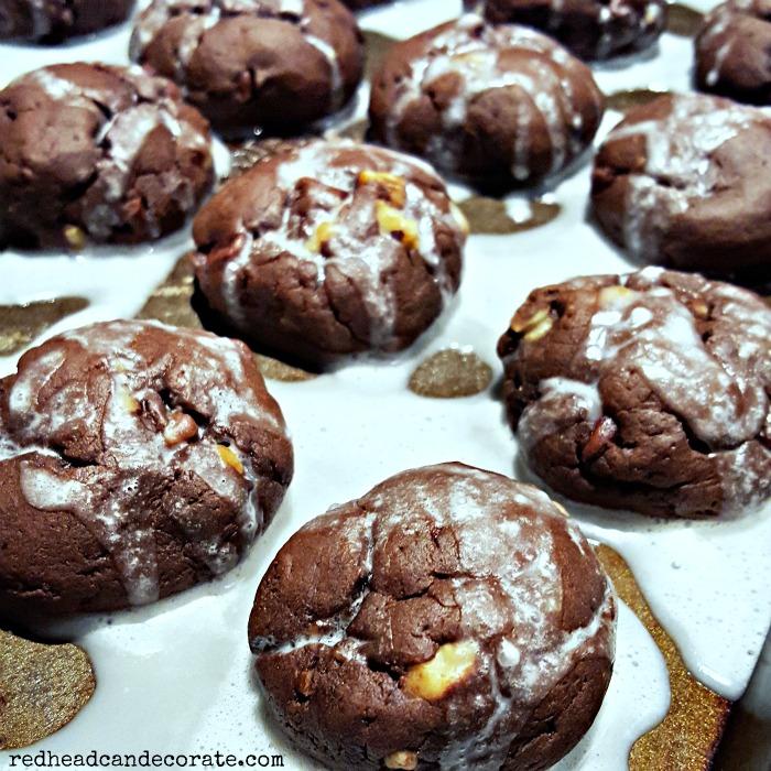 Chocolate Meatball Cookies