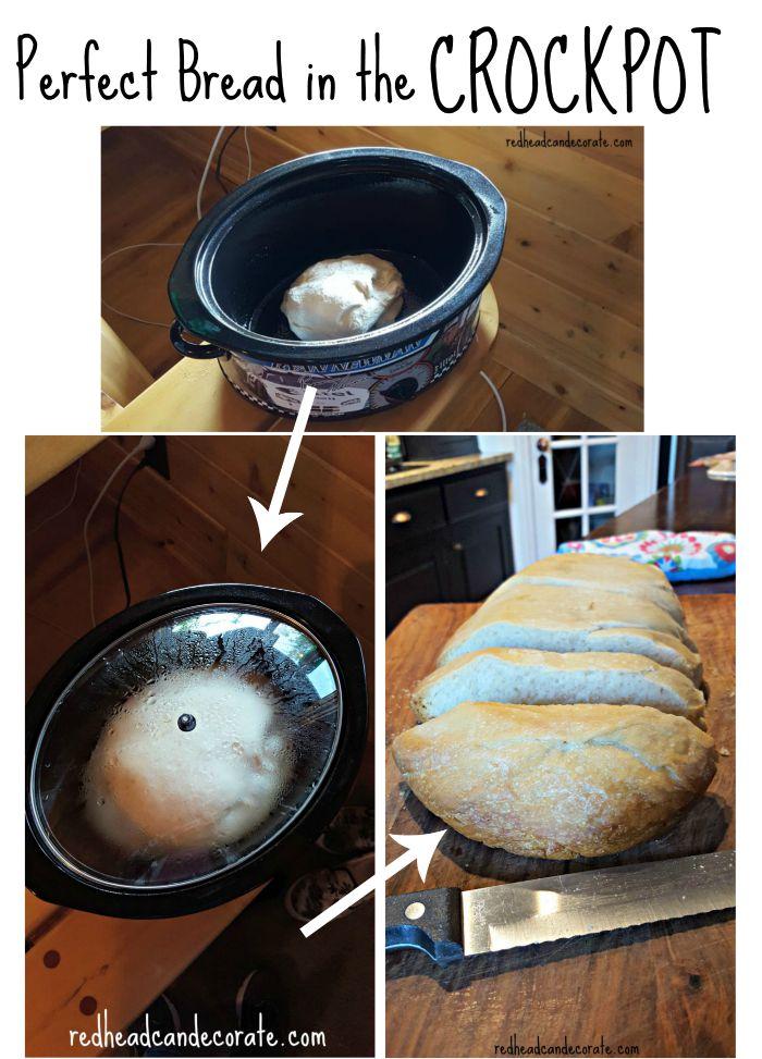 Crockpot Baked Bread