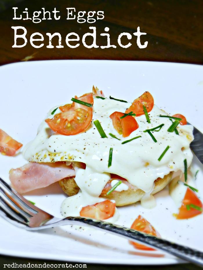 Light Eggs Benedict