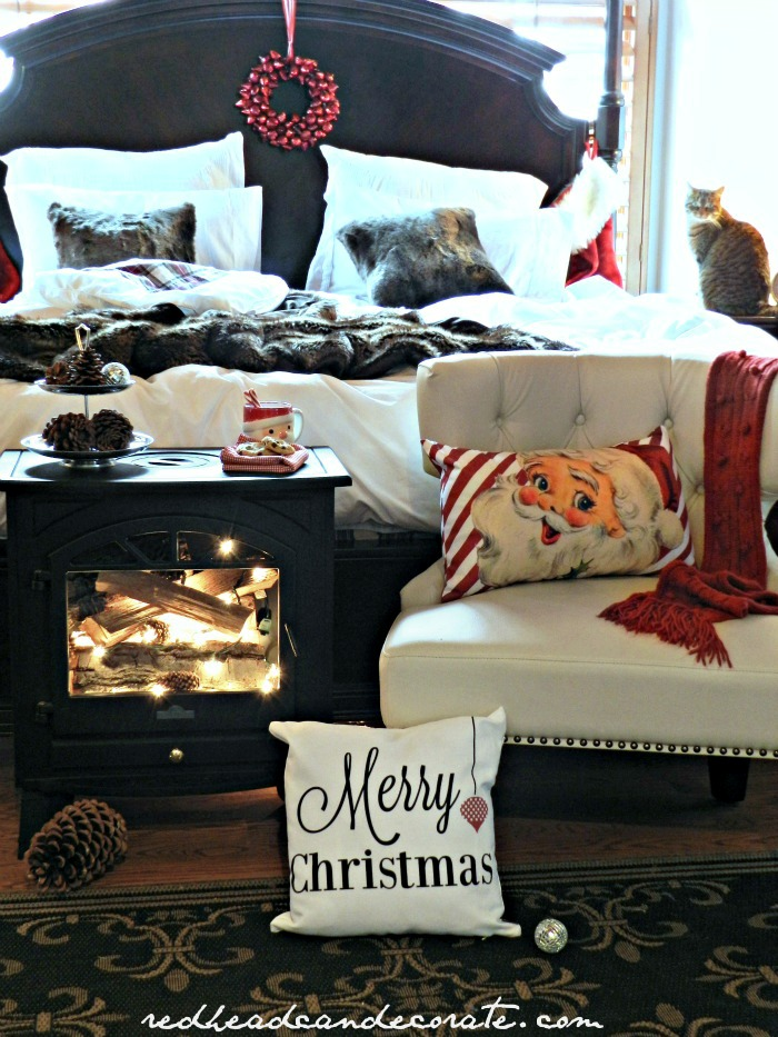 Santa Cozy Bedroom