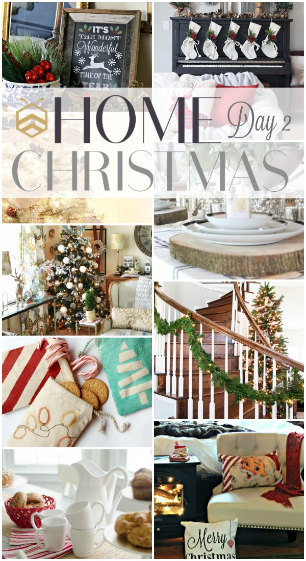 bhome christmas event day 2 collage