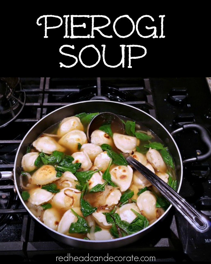 Pierogi Soup