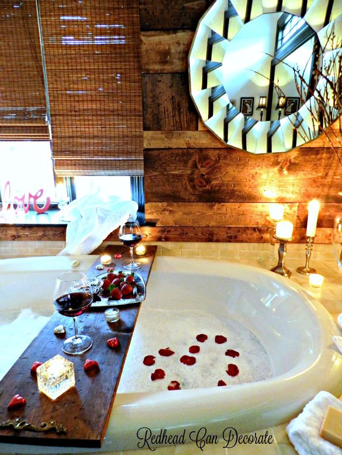 Romantic Bath Date