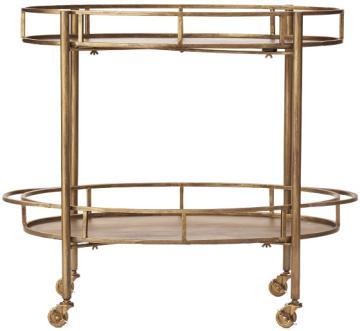 gold cart home decorators