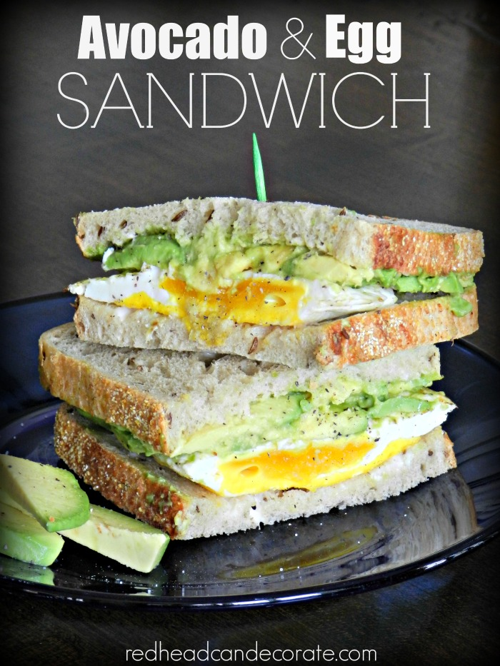 Avocado & Egg Sandwich