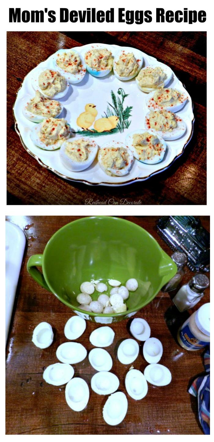 Mom's Deviled Eggs Recipe
