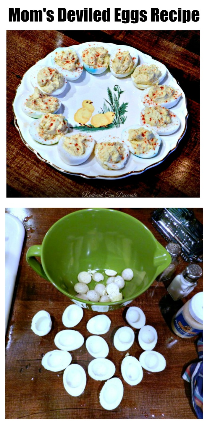 Mom's Deviled Eggs Recipe