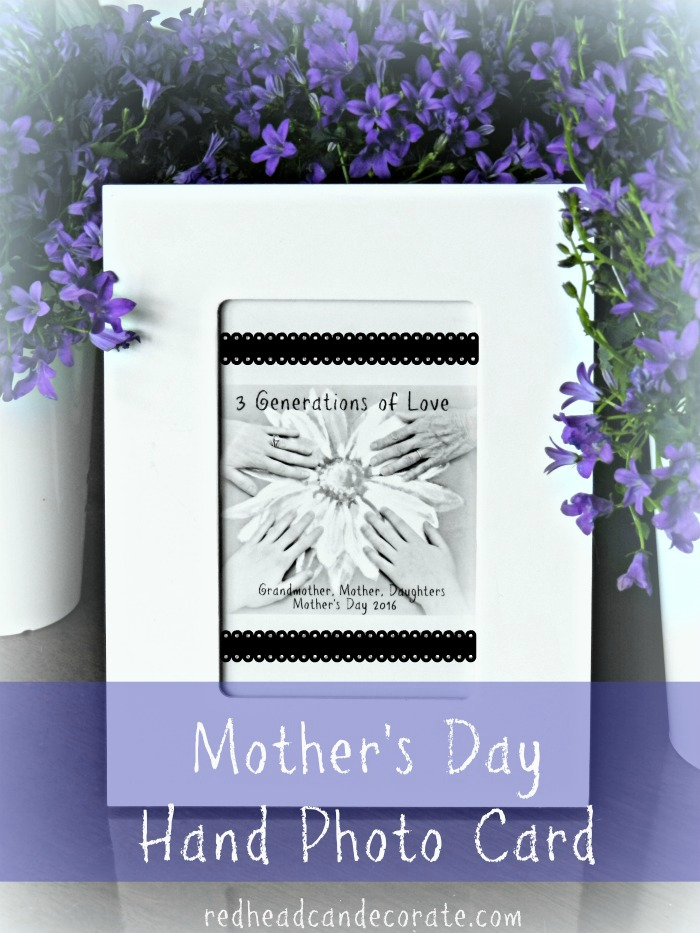 Mother's Day Hand Card