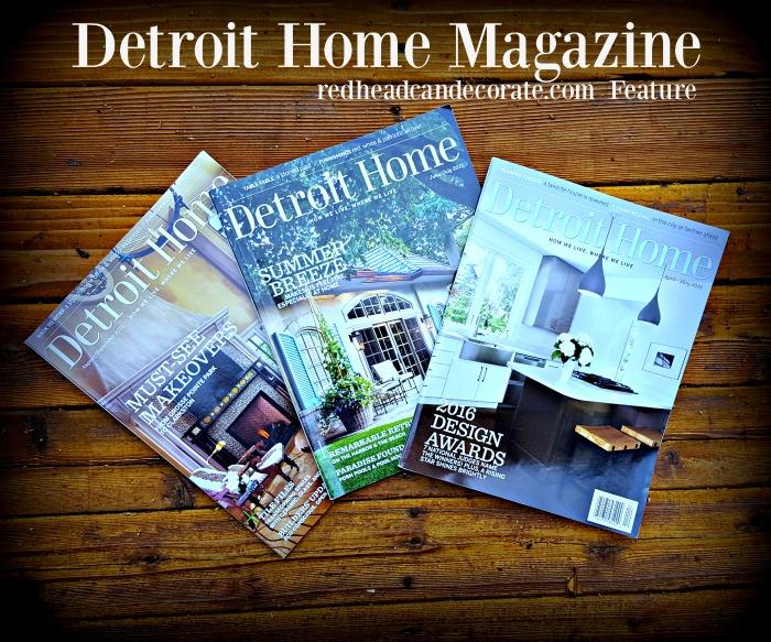 Detroit Home Magazine Feature