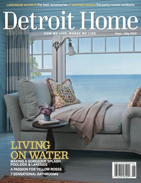 Detroit Home Magazine Cover
