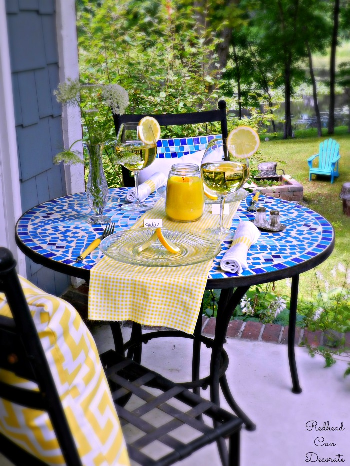 Lemon Table Ideas