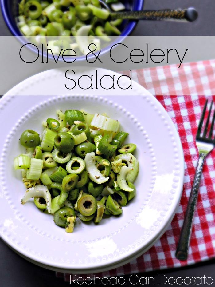 Olive & Celery Salad