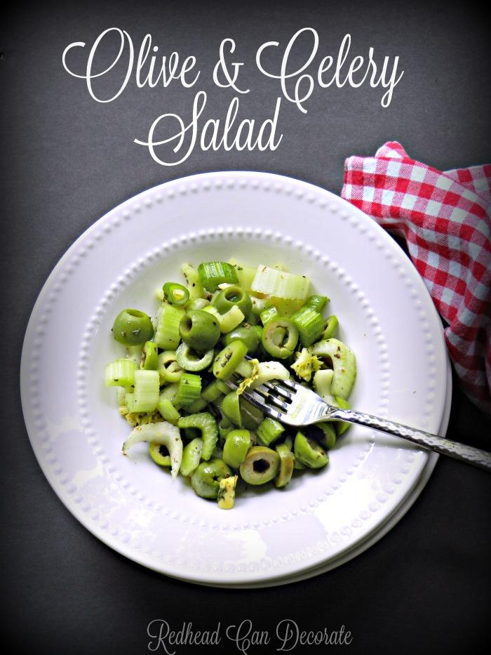 Olive & Celery