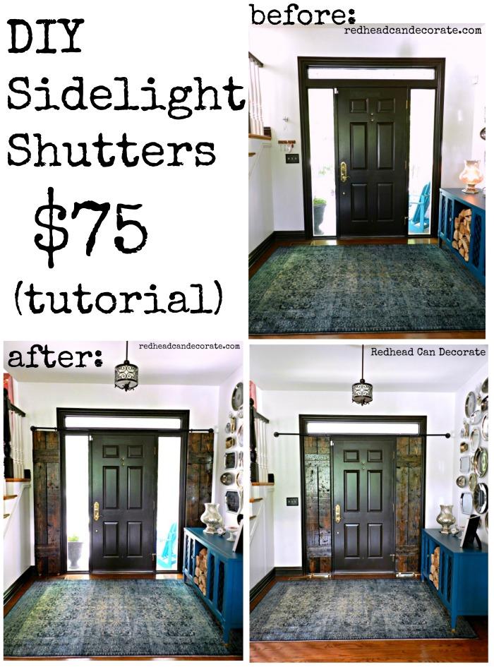 Sidelight Shutter Tutorial