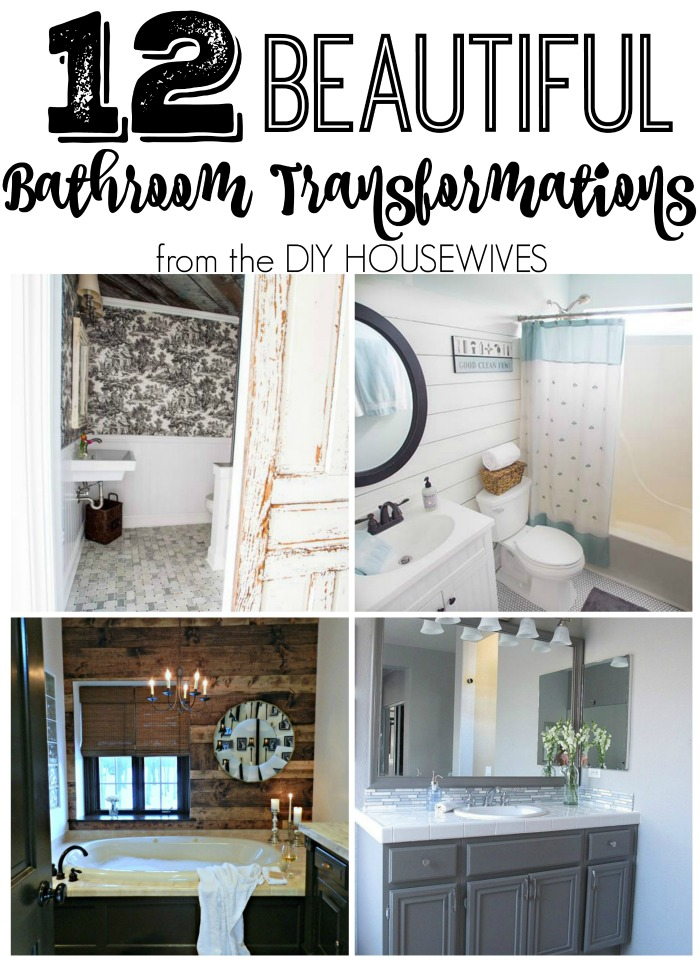 I love these bathrooms. Pinning for later!