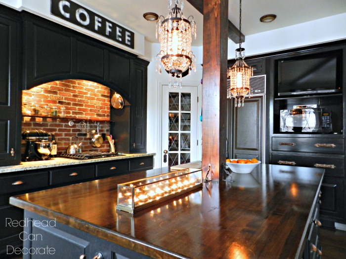 How to make your kitchen into functional cozy coffee lounge!