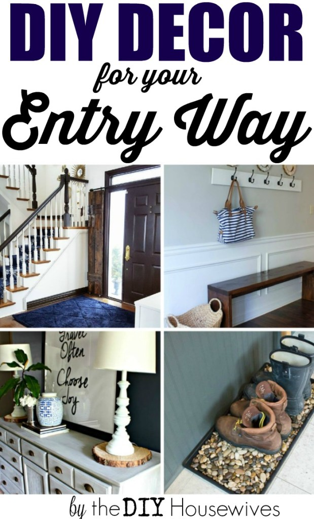 AMAZING DIY ideas for the entry way!