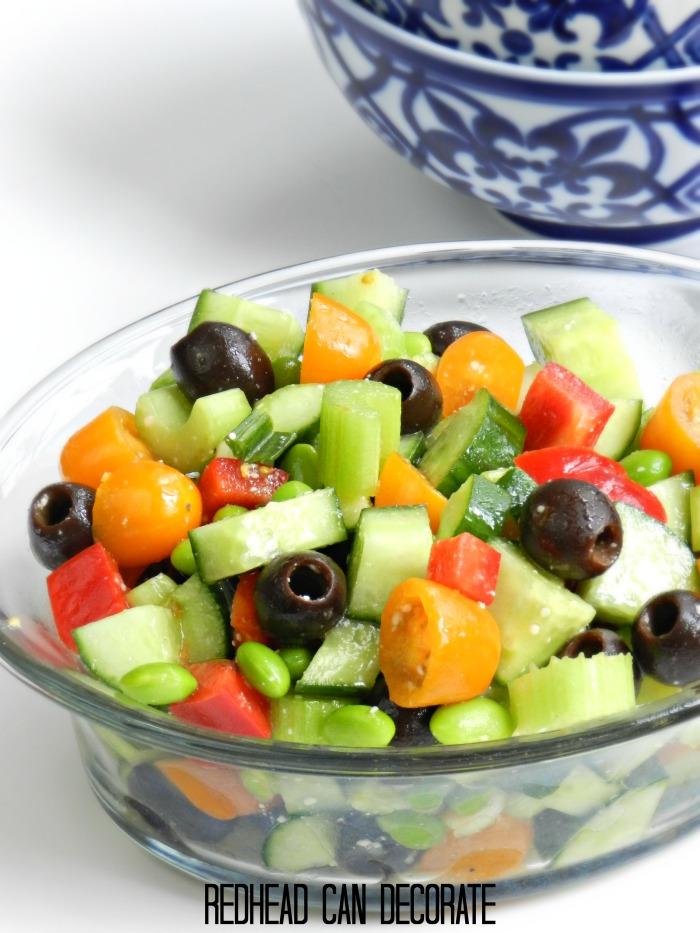 Redhead's Skinny Salad