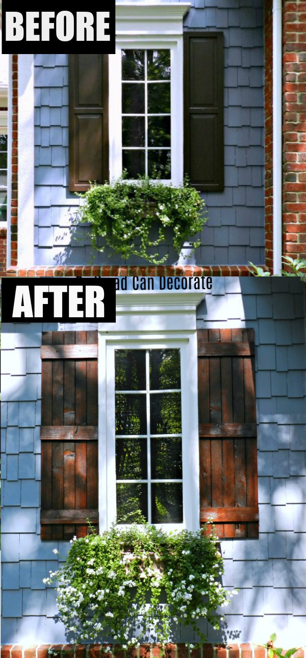 Beau You Wonu0027t Believe What A Difference Exterior Cedar Shutters Make On Your  Home!