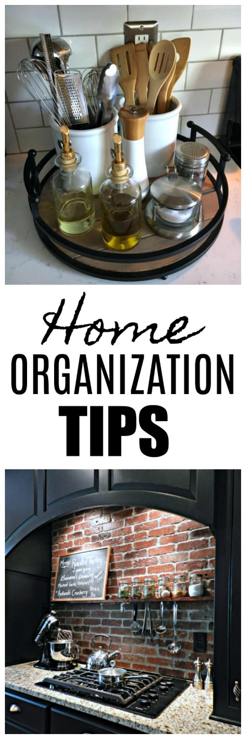 Organization tips from the DIY Housewives!