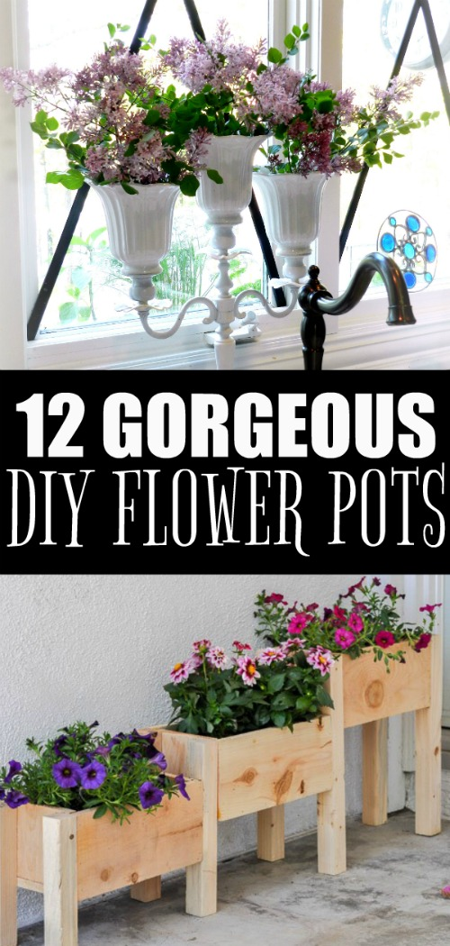 12 Gorgeous Diy Potted Plant Ideas Redhead Can Decorate