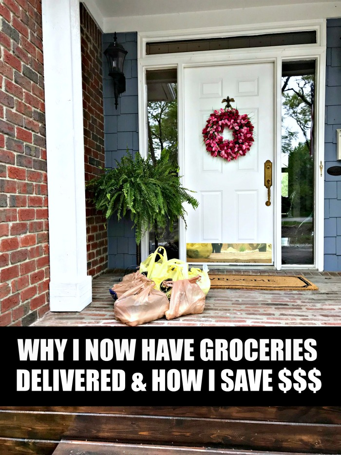 Have you heard how you can order groceries have them delivered to your home through Instacart now? This is truly life changing for me!
