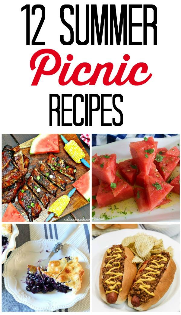 12 Scrumptious Summer Picnic Recipes