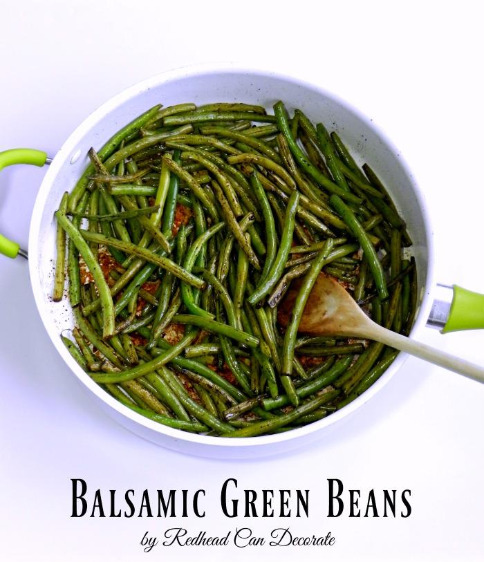 Balsamic Green Bean Recipe b Redhead Can Decorate