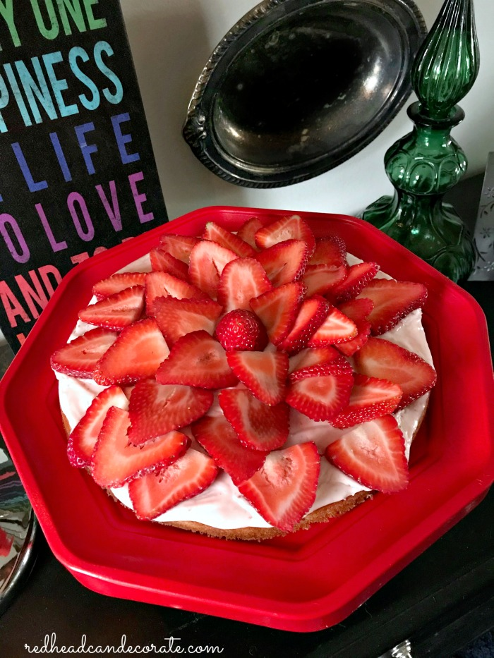 This Strawberry Cake Recipe is the real deal and it was absolute heaven to devour