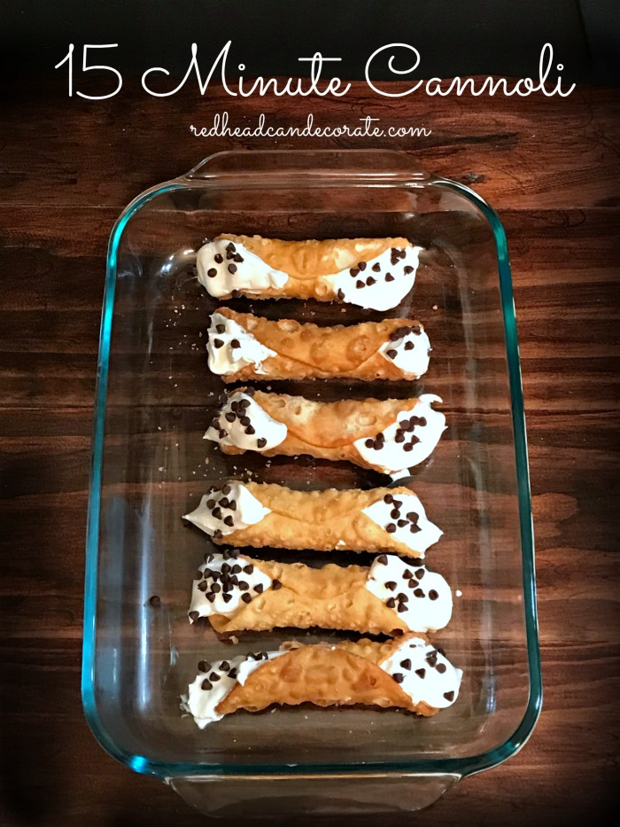 This Easy Cannoli Recipe uses traditional style Italian pastries stuffed with a simple sweet cream cheese filling that takes just a few minutes to create without having to use expensive hard to find ingredients.