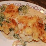 Cauliflower & Broccoli Bake