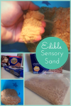 Make Your Own Edible Sensory Sand #Craft #Recipe