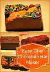 Our Kids Redesign Chocolate With The Easy Chef Chocolate Bar Maker #Review