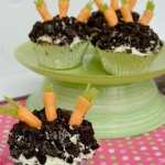 """Carrots in The Dirt"" Cakes"