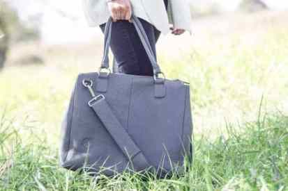 Oemi baby bag in grey