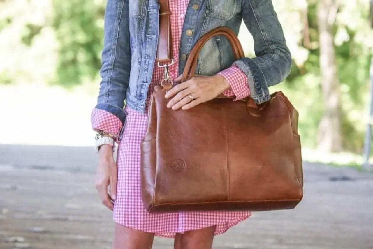 Oemi baby bag in use 2