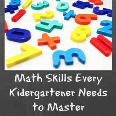 Math Skills For Every Kindergartener To Master