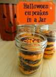 Halloween Cupcakes In A Jar #Recipe