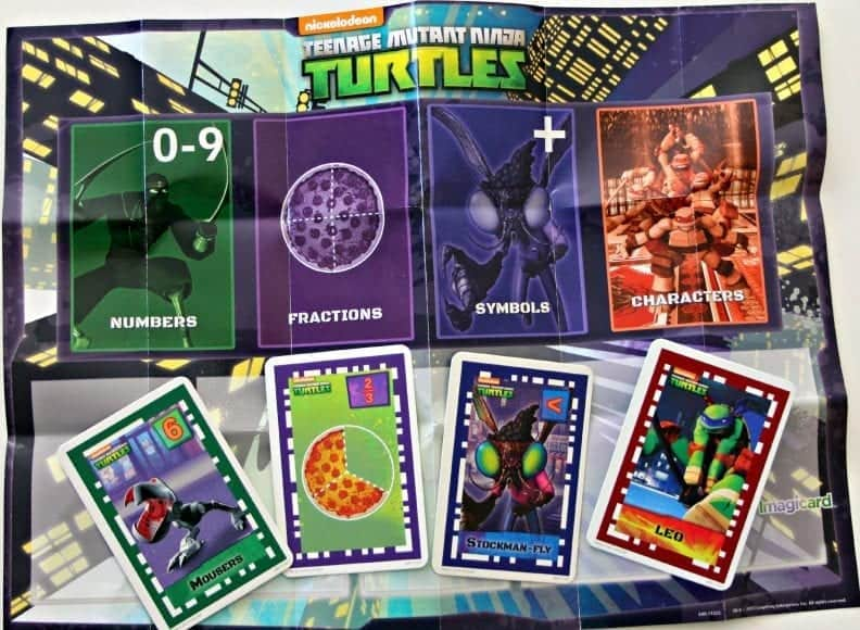 TMNT Imagicards & playmat
