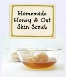 Honey And Oat Skin Scrub #HowTo