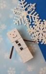 Create A Cute Woodblock Minecraft Snowman #Crafts