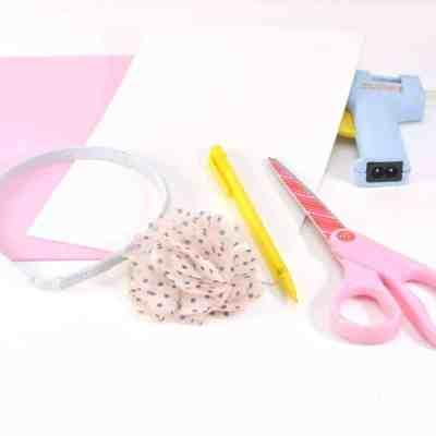 Homemade Bunny Headband #Crafts